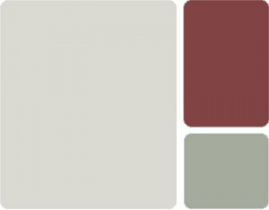 Pearl Gray Country Red Acadia Rustic