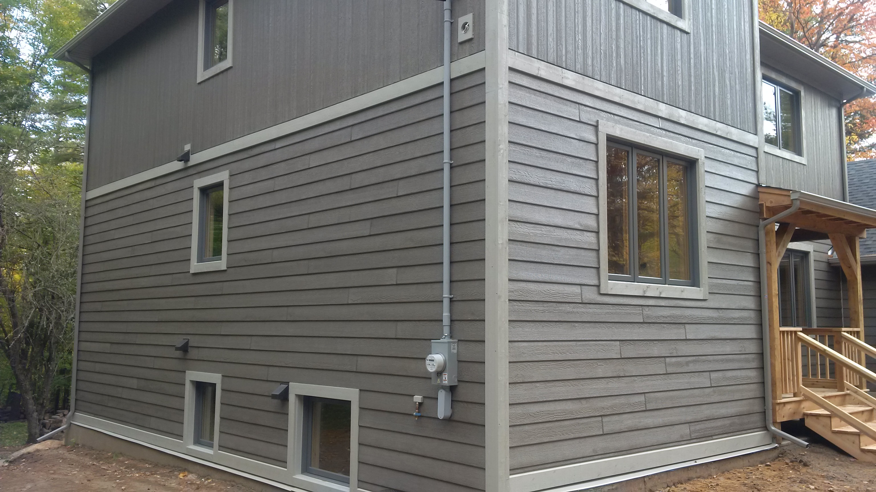 7 Popular Siding Materials To Consider: Wood Grain Siding Products