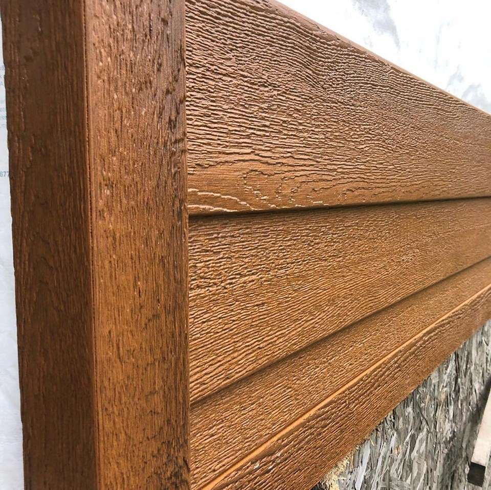 Trending wood siding colors
