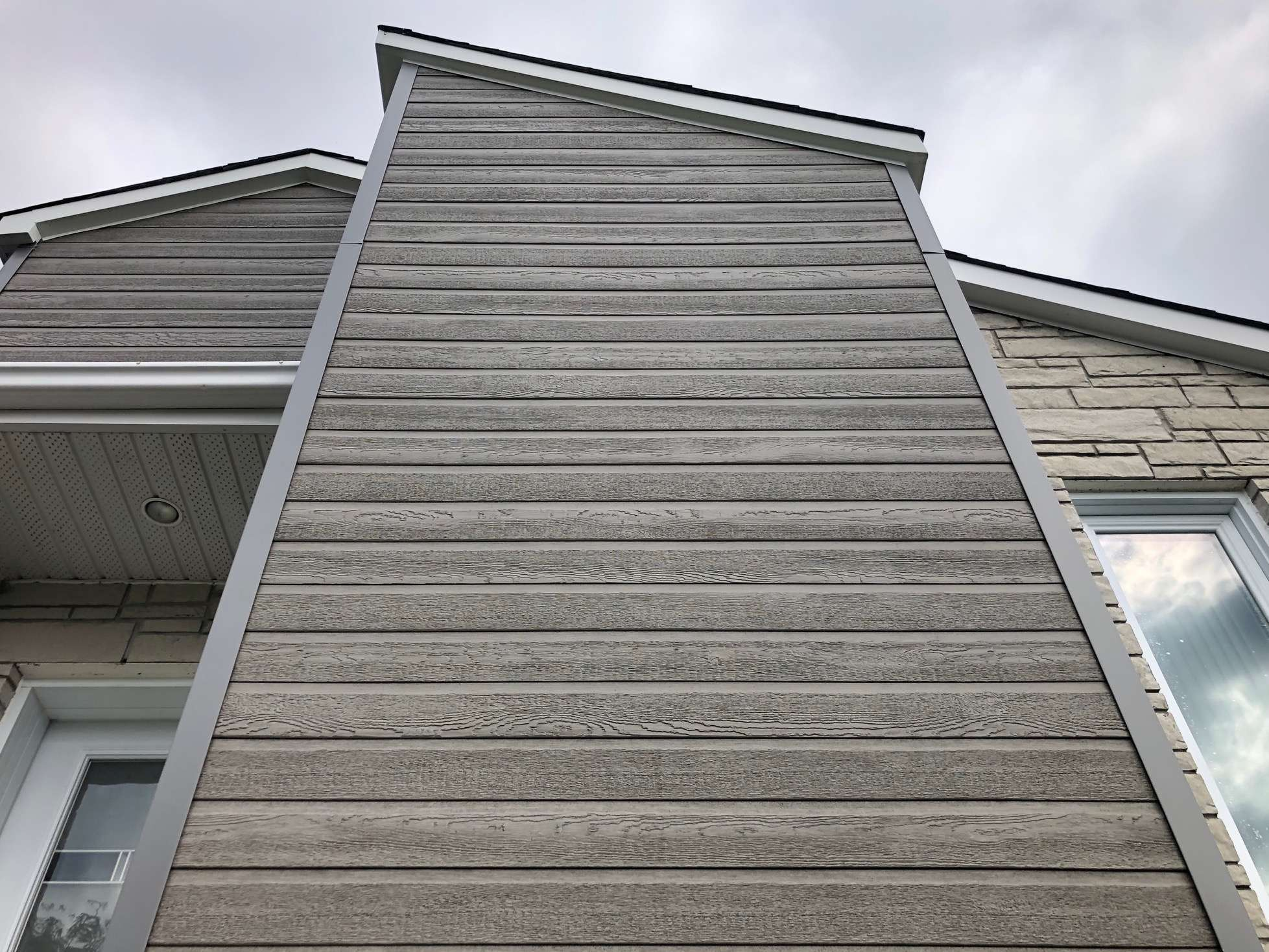 Trending wood siding color