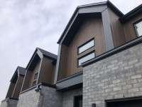 KWP Stratford as Vertical siding - Sierra Rustic - granite rustic